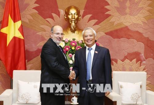 Pour une coopération parlementaire renforcée entre le Vietnam et Cuba - ảnh 1
