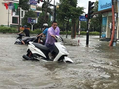 Typhon Son Tinh: des pluies torrentielles à partir de ce mercredi après-midi - ảnh 1