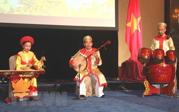 Présentation de la culture vietnamienne à Singapour - ảnh 1