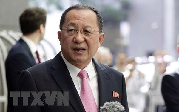 Le chef de la diplomatie nord-coréenne attendu en Iran mardi - ảnh 1