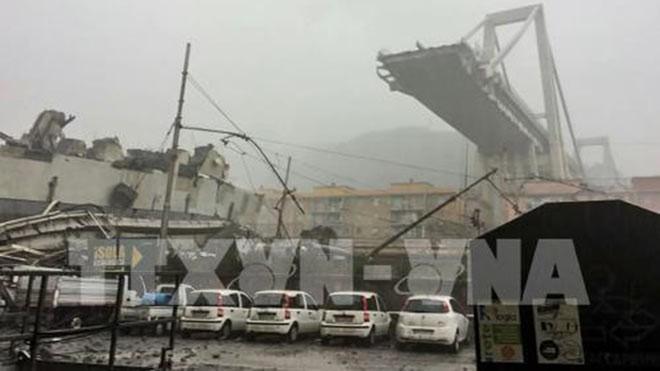 Viaduc effondré à Gênes: 38 morts et plusieurs disparus - ảnh 1