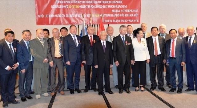 Nguyên Phu Trong: promouvoir la solidarité Vietnam-Russie - ảnh 1