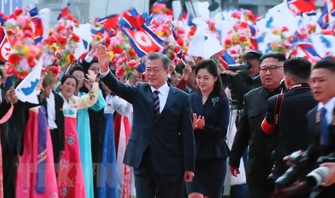 Le président Moon à Pyongyang pour un nouveau sommet intercoréen - ảnh 1