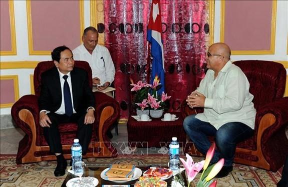 Le Vietnam soutient l'oeuvre révolutionnaire de Cuba - ảnh 1