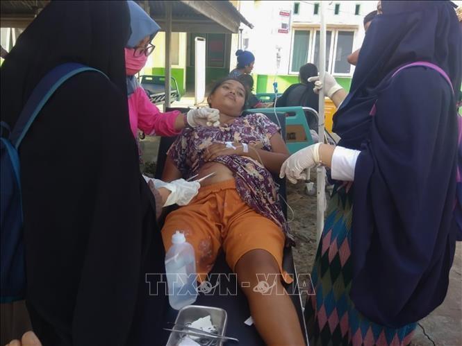 Indonésie: des centaines de morts après un séisme et un tsunami - ảnh 1