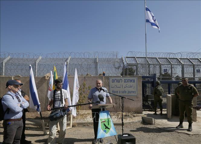 Golan: réouverture lundi du point de passage de Qouneitra entre Israël et Syrie - ảnh 1