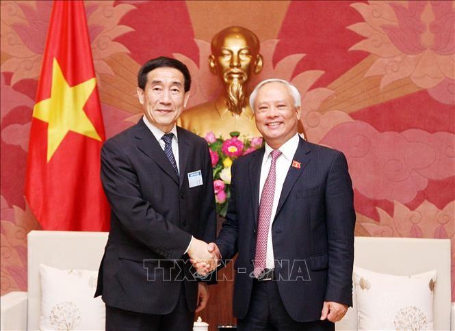 Uông Chu Luu reçoit une délégation de l'Assemblée nationale populaire de Chine  - ảnh 1