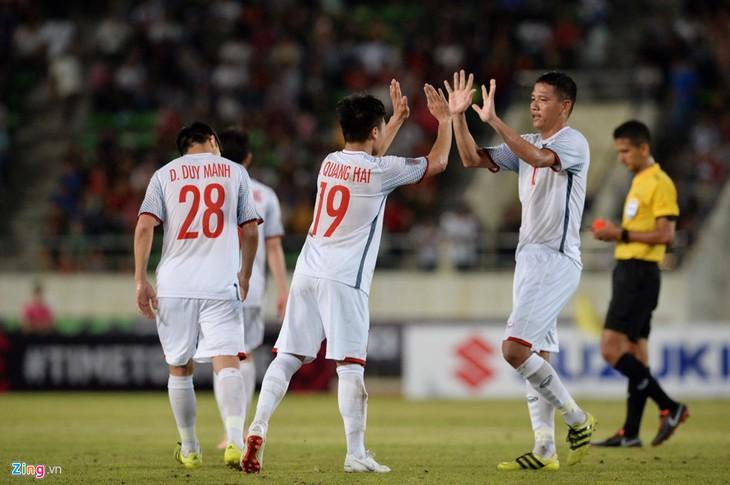 AFF Suzuki Cup 2018: le Vietnam bat le Laos 3-0 en match d'ouverture - ảnh 1