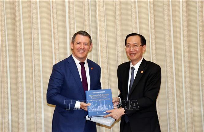 Dynamiser la coopération entre Hô Chi Minh-ville et le Territoire du Nord  d'Australie - ảnh 1