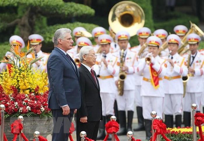 Miguel Diaz-Canel: les relations Cuba-Vietnam sont singulières - ảnh 1