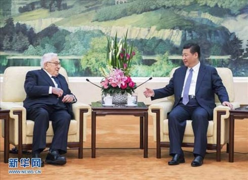 Xi Jinping rencontre Henry Kissinger - ảnh 1
