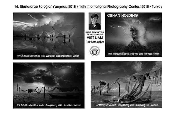 Les photographes vietnamiens primés à un concours de photographie en Turquie - ảnh 1