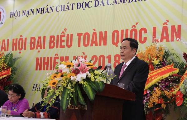 Congrès national de l'Association des victimes de l'agent orange/dioxine du Vietnam  - ảnh 1