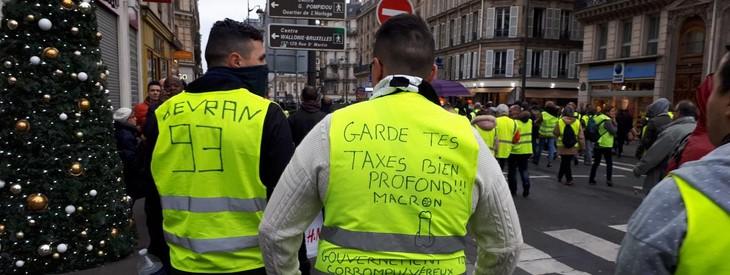 """""""Acte 6"""" des """"gilets jaunes"""" en France  - ảnh 1"""