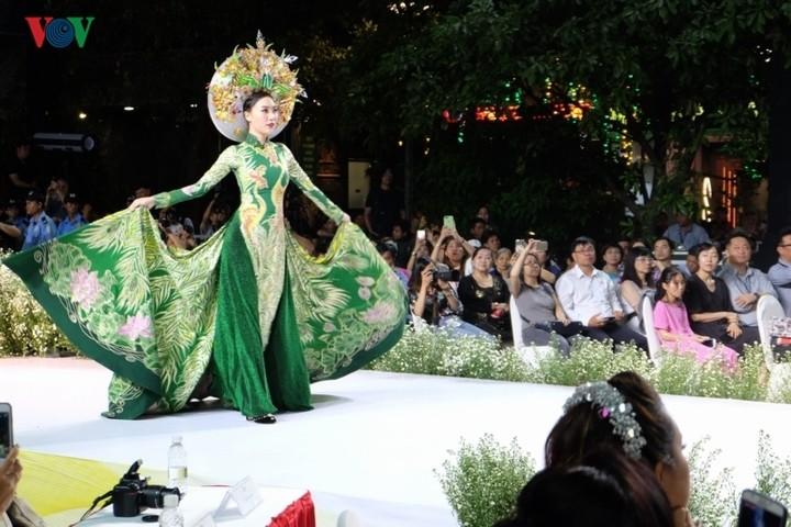 Hô Chi Minh-ville : 6e fête du ao dài - ảnh 1