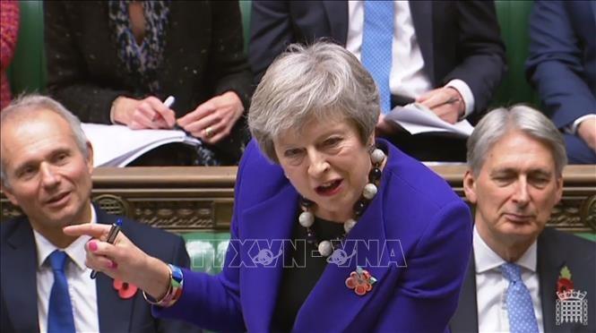 Brexit: Theresa May convoque une réunion de «crise» avant une semaine cruciale - ảnh 1