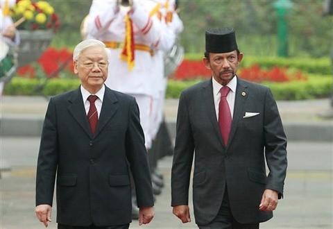 Déclaration commune Vietnam-Brunei - ảnh 1