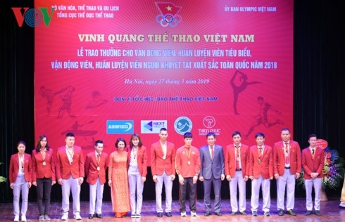 Gloire aux sports vietnamiens 2019 - ảnh 1