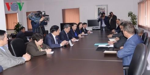 Nguyên Thi Kim Ngân reçoit le gouverneur de la préfecture de Marrackech  - ảnh 1