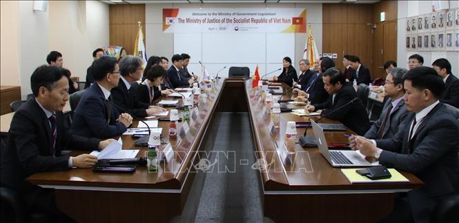 Vietnam-République de Corée: promouvoir la coopération juridique  - ảnh 1