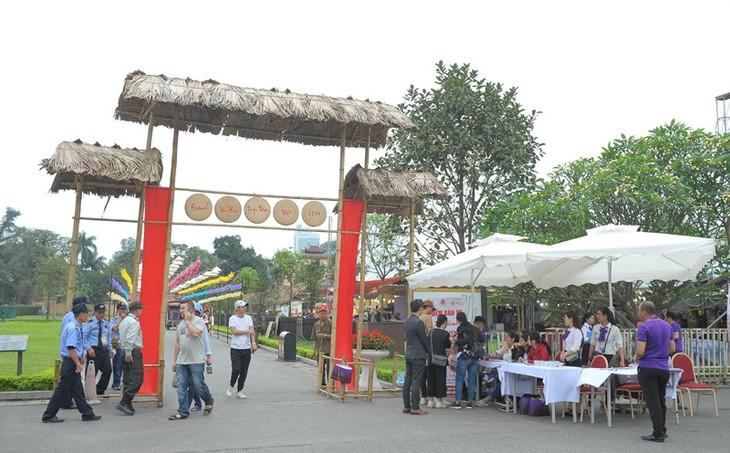 Un festival de la culture traditionnelle et un échange culturel international   - ảnh 2