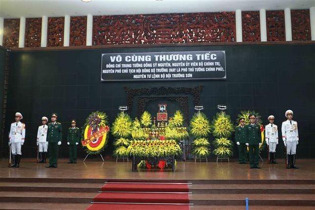 Cérémonie d'hommage au général Dông Sy Nguyên - ảnh 1