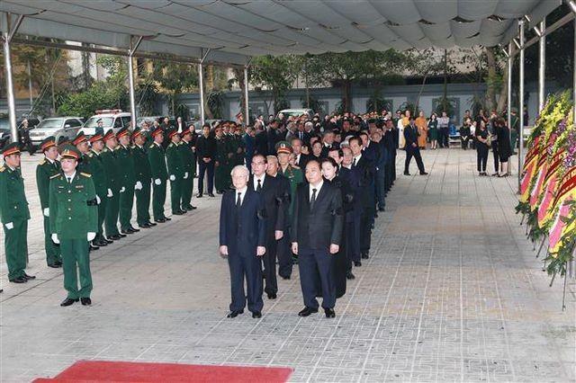 Cérémonie d'hommage au général Dông Sy Nguyên - ảnh 2