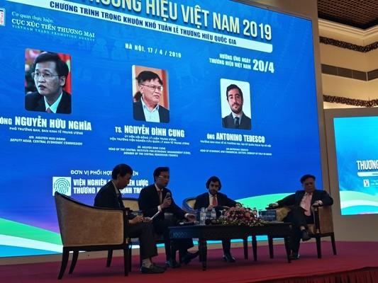 Le forum «Stratégie de marques vietnamiennes» - ảnh 1