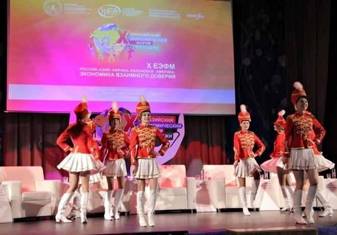 Le Vietnam participe au Forum économique eurasien de la jeunesse - ảnh 1