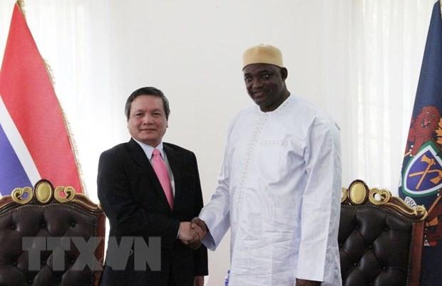 Renforcement des relations Vietnam-Gambie - ảnh 1