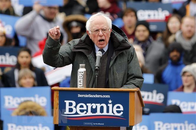 Course à la Maison Blanche 2020: Bernie Sanders en tête du camp démocrate - ảnh 1