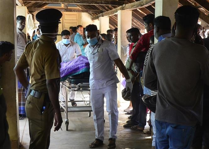 Sri Lanka : 13 personnes arrêtées en lien avec les attentats - ảnh 1