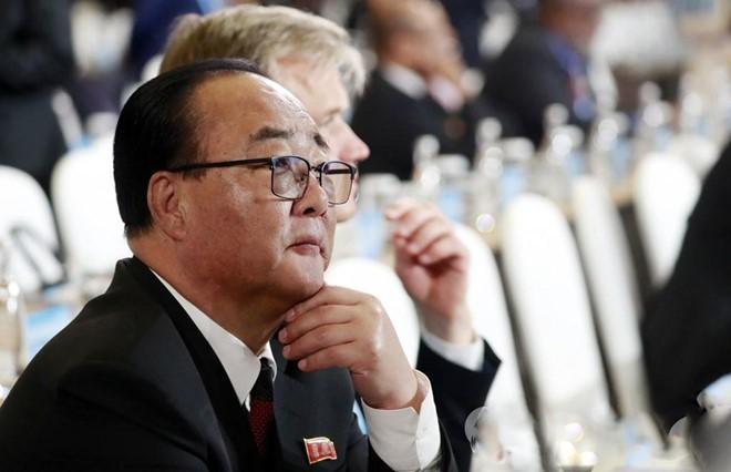 Le ministre nord-coréen des Affaires économiques se montre indifférent aux sanctions - ảnh 1
