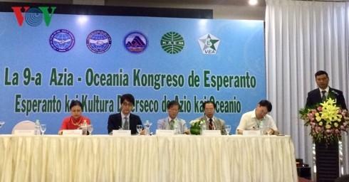 Plus de 300 délégués au IXe Congrès de l'espéranto d'Asie et d'Océanie à Dà Nang - ảnh 1