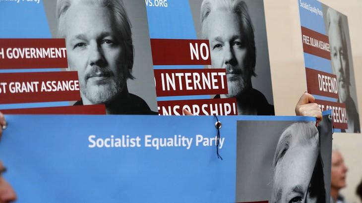 WikiLeaks: Julian Assange refuse d'être extradé vers les États-Unis - ảnh 1