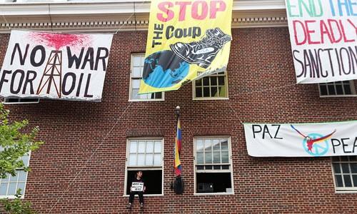 Le Venezuela demande aux États-Unis de protéger son ambassade à Washington - ảnh 1