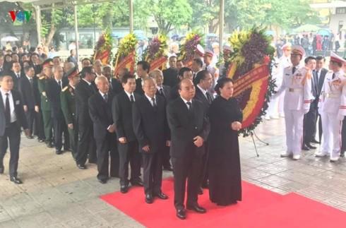 Obsèques nationales de l'ancien président Lê Duc Anh - ảnh 1