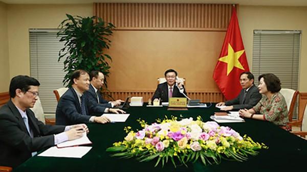 Vuong Dinh Huê: Le Vietnam apprécie le partenariat intégral avec les États-Unis - ảnh 1