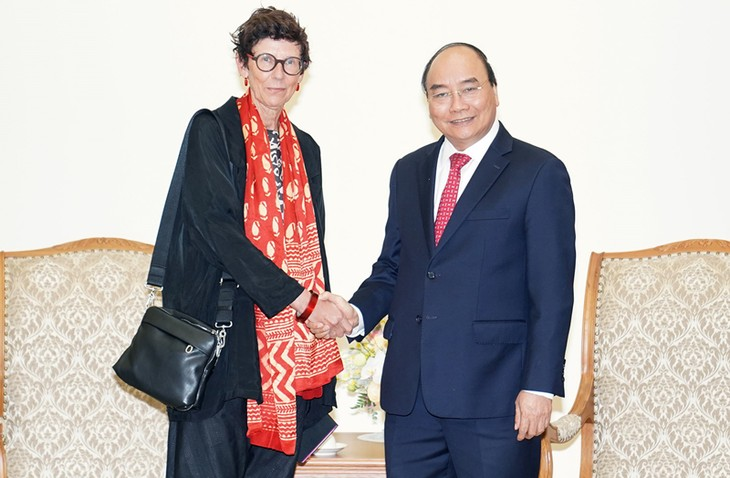 L'ambassadrice norvégienne reçue par Nguyên Xuân Phuc - ảnh 1