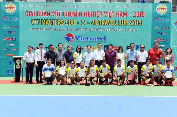 Clôture du tournoi de tennis professionnel Vietravel Cup 2019 - ảnh 1