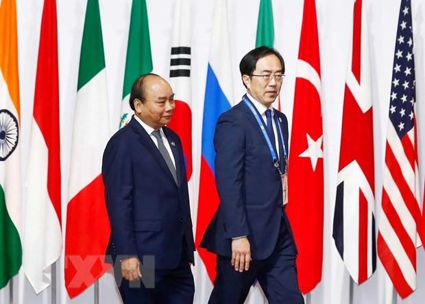 Activités de Nguyên Xuân Phuc au sommet du G20 - ảnh 1