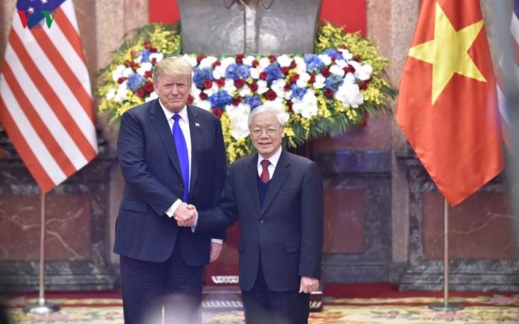 Messages de félicitations des dirigeants vietnamiens pour la Fête nationale des États-Unis - ảnh 1