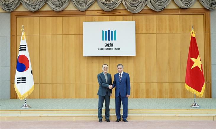 Hanoï et Séoul renforcent leur coopération dans la lutte contre la criminalité - ảnh 1