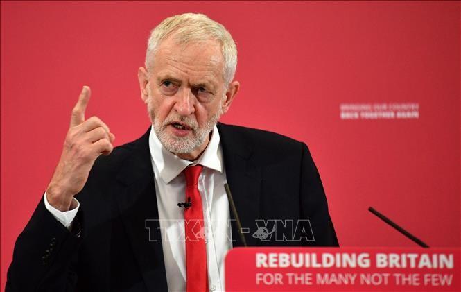 Jeremy Corbyn veut un nouveau référendum sur le Brexit - ảnh 1