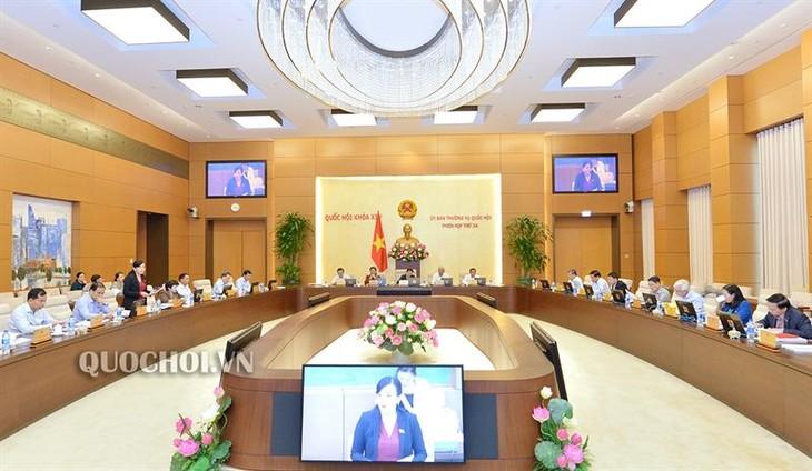 Ouverture de la 35e session du Comité permanent de l'Assemblée nationale - ảnh 1