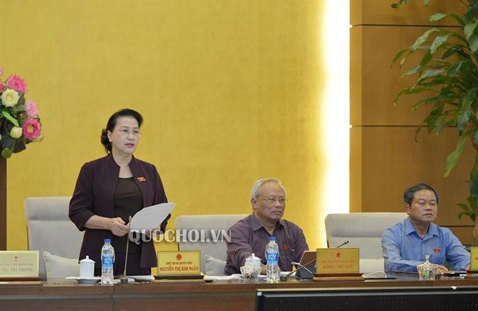 Clôture de la 35e session du comité permanent de l'Assemblée nationale - ảnh 1