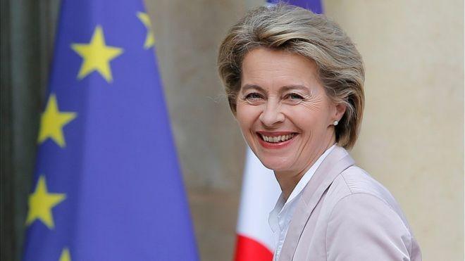 Ursula von der Leyen élue à la présidence de la Commission européenne - ảnh 1