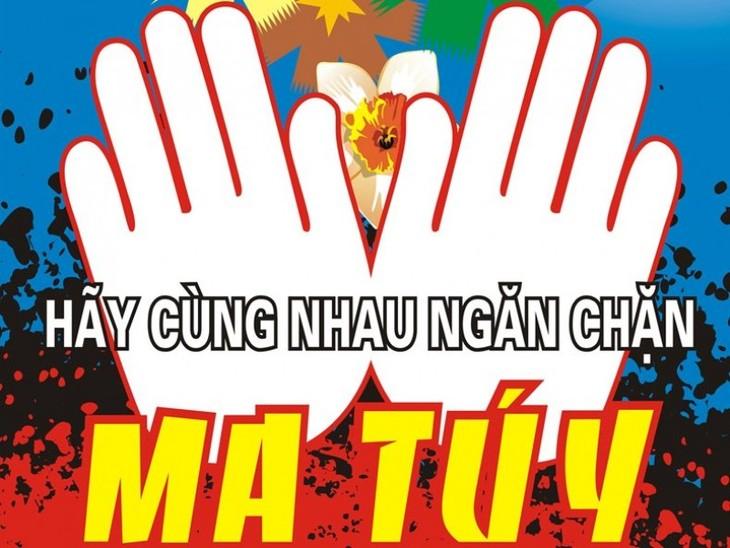 Intensifier la lutte contre le sida, les stupéfiants et la prostitution pour le reste de l'année - ảnh 1