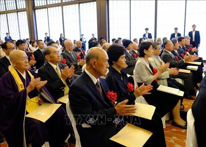 4 acteurs de la coopération diplomatique Vietnam-Japon à l'honneur - ảnh 1