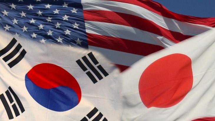 В июле пройдет трехсторонняя встреча между Японией, США и Республикой Корея  - ảnh 1